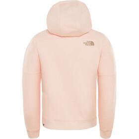 The North Face Drew Peak Hoodie Girls pink salt